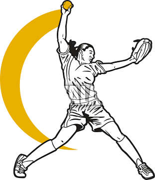 Softball Clip Art - Clipartion.com