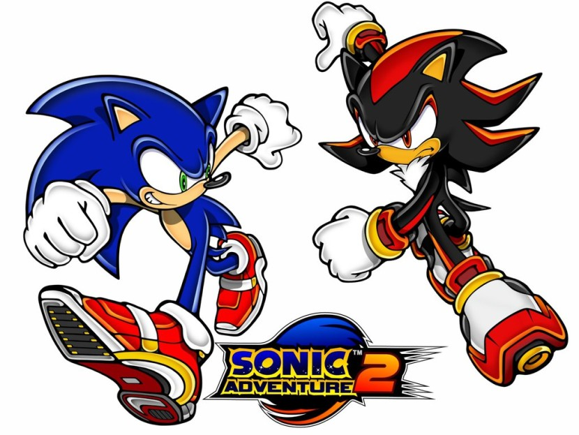 Sonic And Shadow Clip Art 6