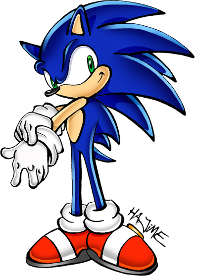 Sonic Clip Art Free Free Clipart Images