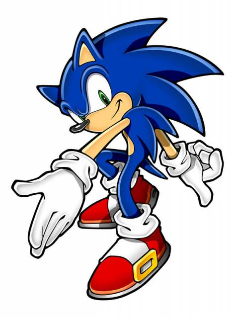 Sonic The Hedgehog Free Clipart Images
