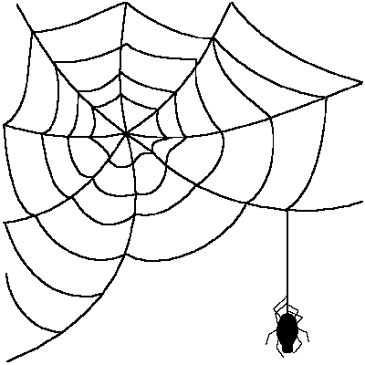 Spider Web Clipart Png Free Clipart Images
