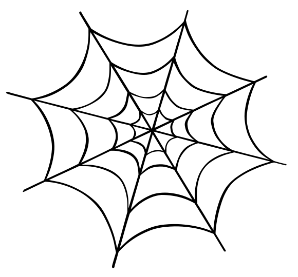 Spider Web Holiday Halloween Spider