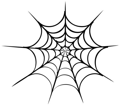 Spider Web Sharp Holiday Halloween