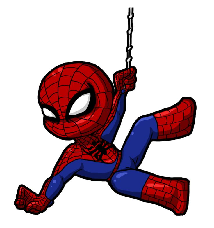 Spiderman Clip Art Spiderman Hanging Out Art Surgery