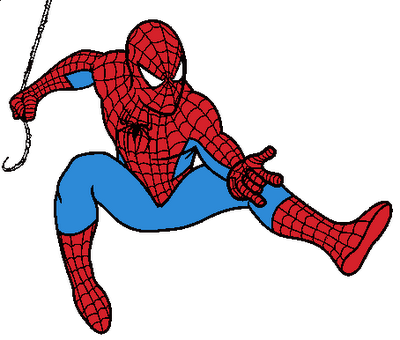 Spiderman Clipart Black And White Free Clipart