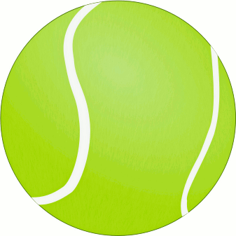 Sports Tennis Ball Large A Public Domain Png Image Clipart Free