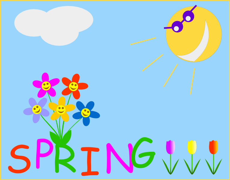 Spring Clip Art Nature Cleanclipart