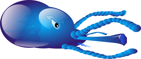 Squid Clip Art Free Vector 4vector