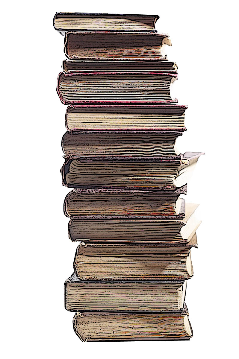 Stack Of Books Clip Art 6