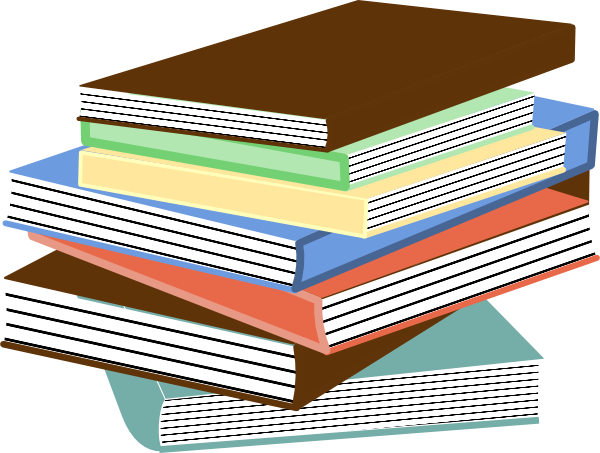 Stack Of Books Clip Art Free Vector 4vector