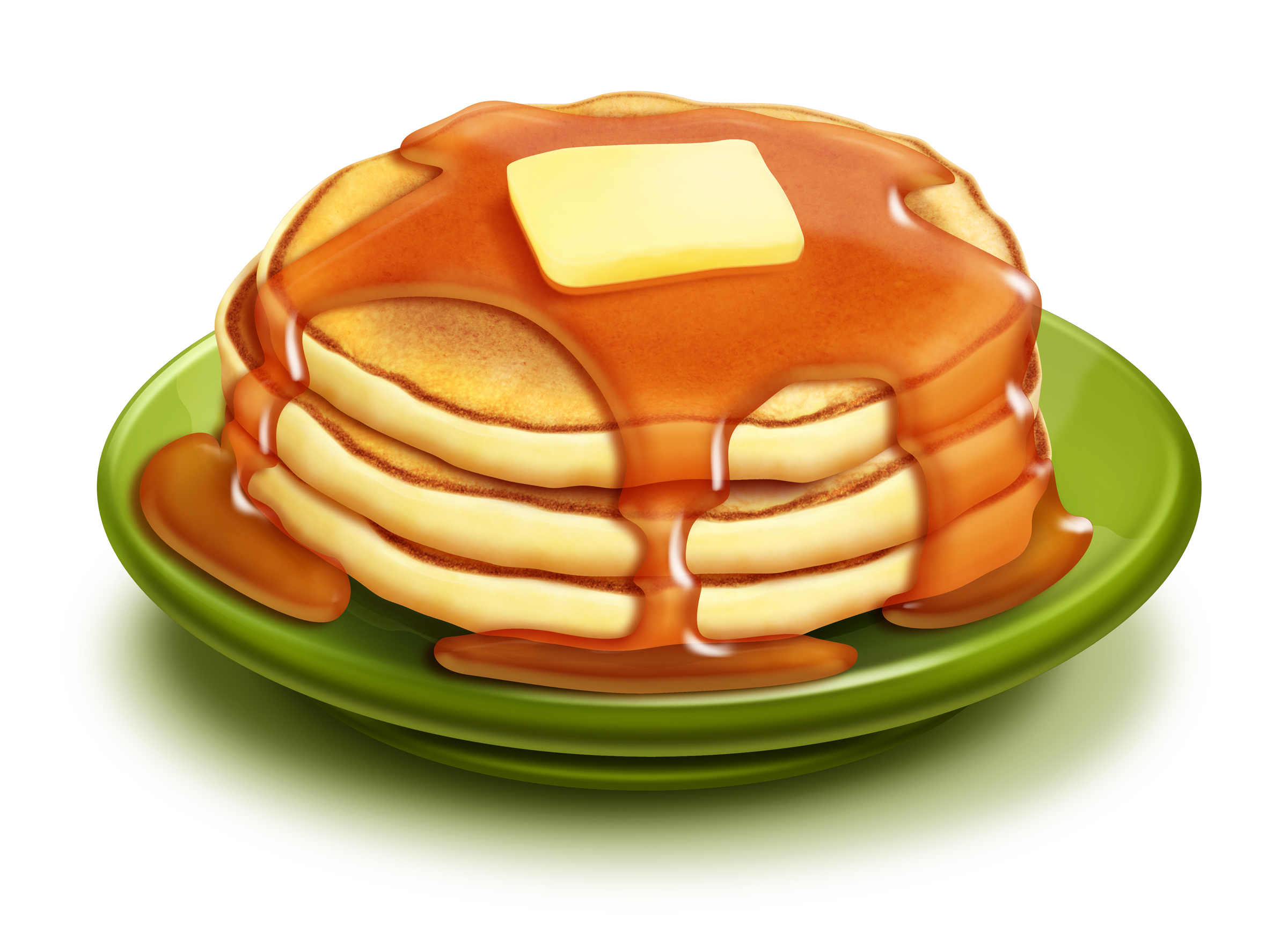 Stack Of Pancakes Clipart Free Clip Art Images
