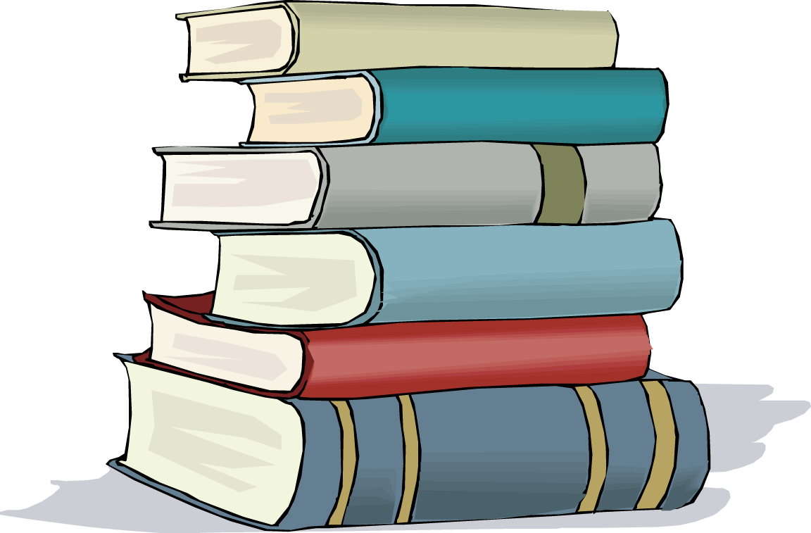 Stack Of School Books Clip Art Free Clipart