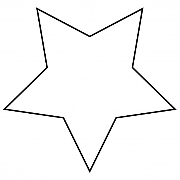 Star Outline Clipart Free Stock Photo Public Domain Pictures
