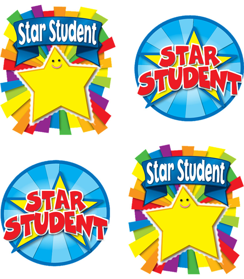 Star Student Award Temporary Tattoos Gold Clipart Free Clip Art