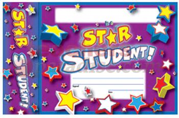 Star Student Bookmark Award From