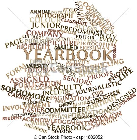 Stock Illustrations Of Word Cloud For Yearbook Abstract Word