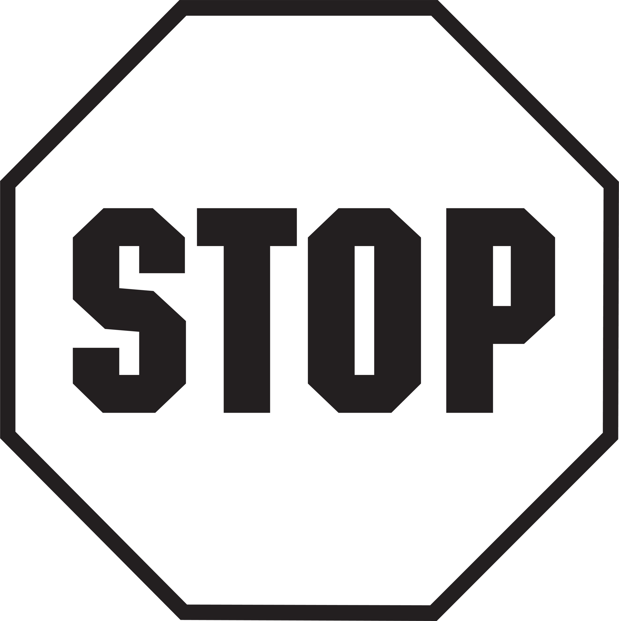 best stop sign black and white 13919 clipartion com free clip art stop sign eat sign free clip art stop sign black and white