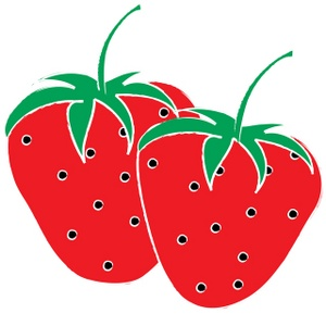 Strawberry Clip Art Border