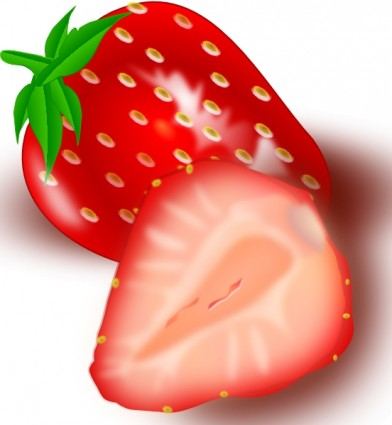 Strawberry Clip Art Free Vector In Open Office Drawing