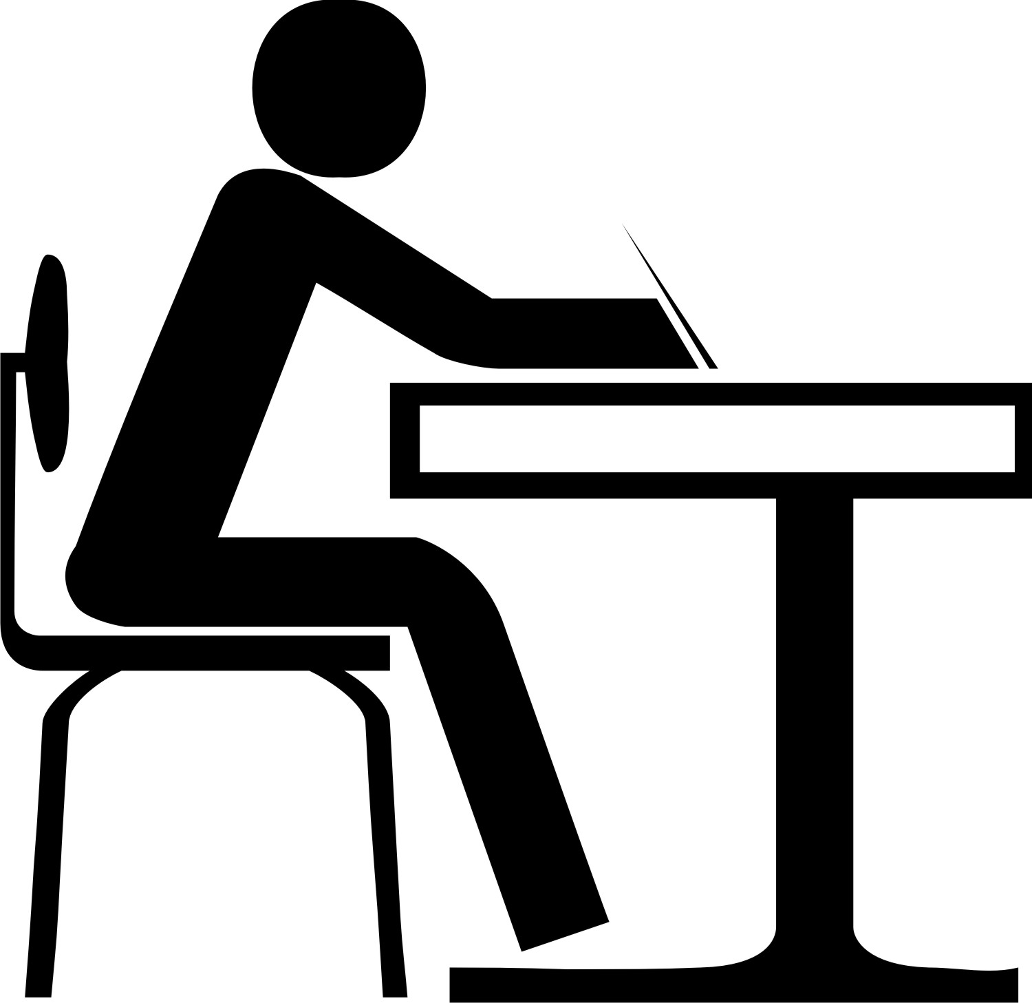 Best Student Working Clipart #14369 - Clipartion.com