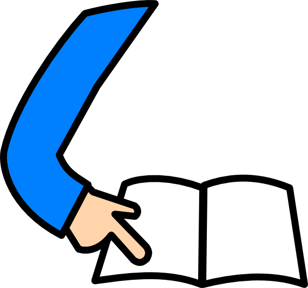 Best Student Reading Clipart 14346