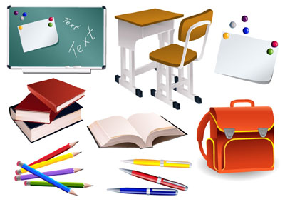 Student School Supplies Clipart Free Clip Art Images