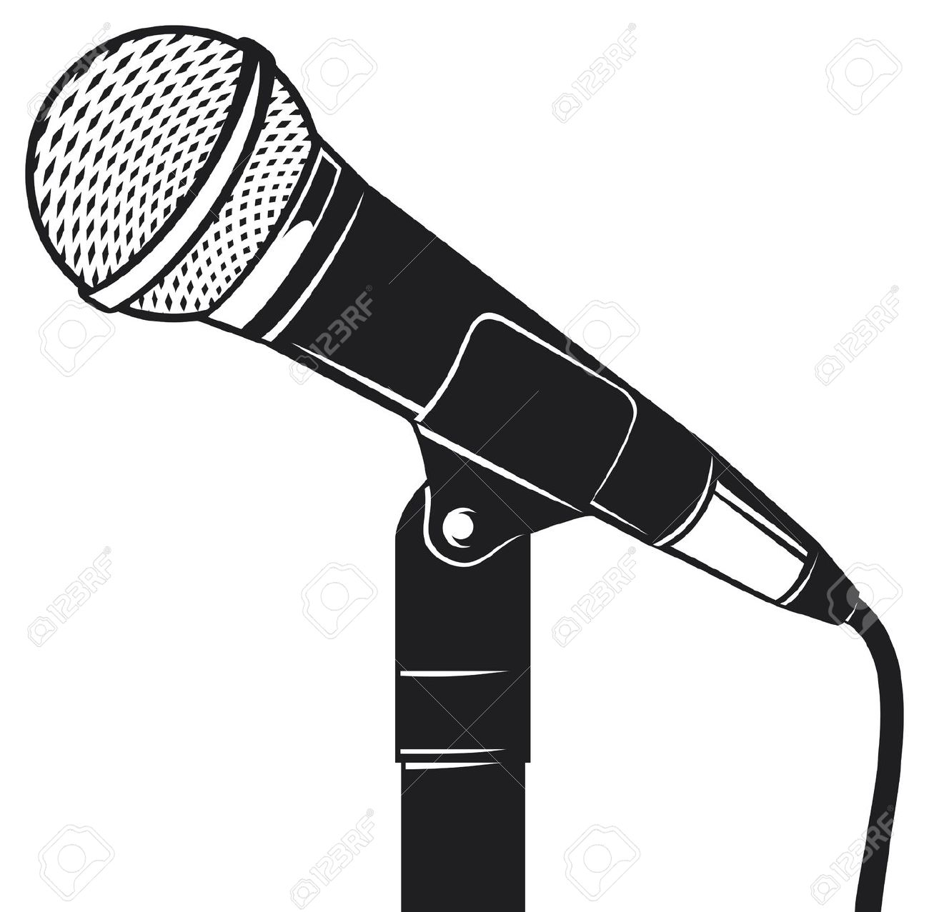 Best Microphone Clipart #12796 - Clipartion.com