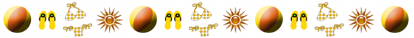Summer Divider Clipart Free Clipart Images