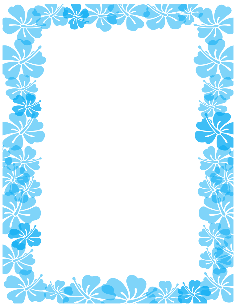 Summer Page Border Clipart Free Clipart Images