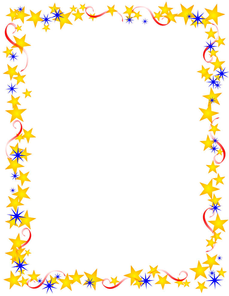 summer-page-border-clipart Free Document Borders