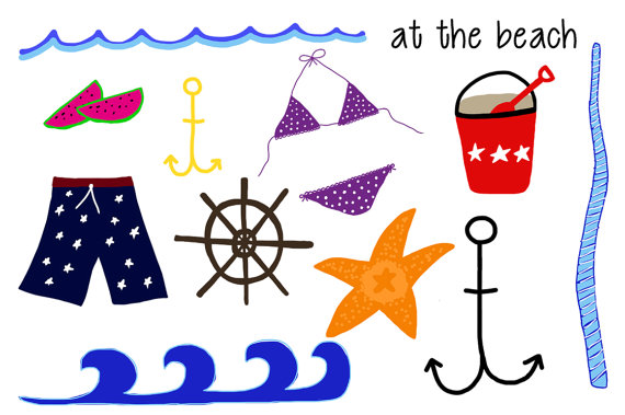 Summertime Clipart Black And White Free Clipart