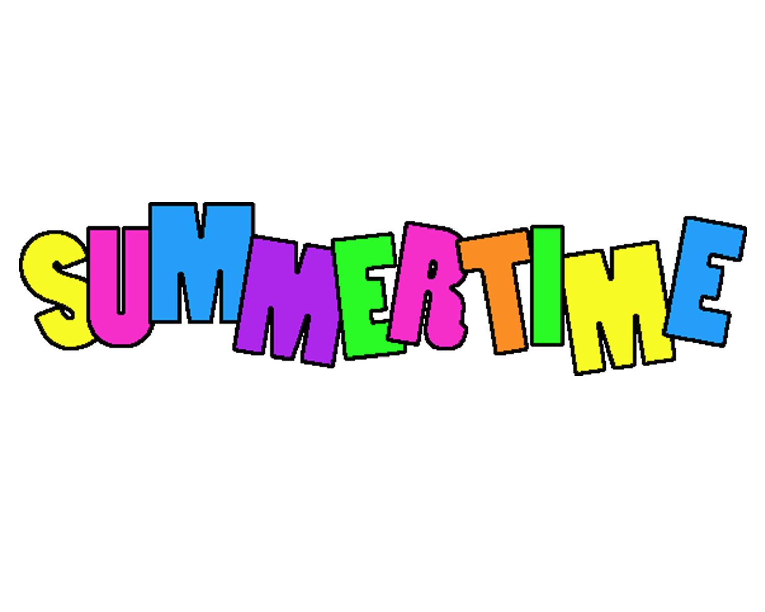 Summertime Clipart Free Clipart Images