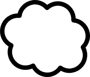 Sun And Clouds Clipart Black And White Free