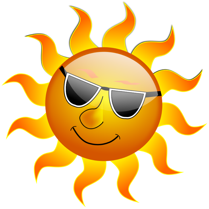 Sun Clipart Graphics Of Suns Amp Sunny Weather