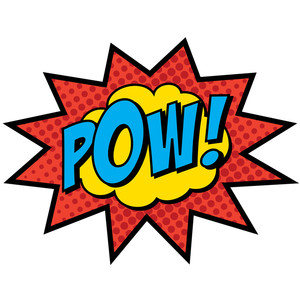 Super Hero Words Clip Art Free Clipart Images