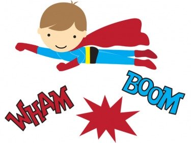 Superhero Printables Superhero Clipart