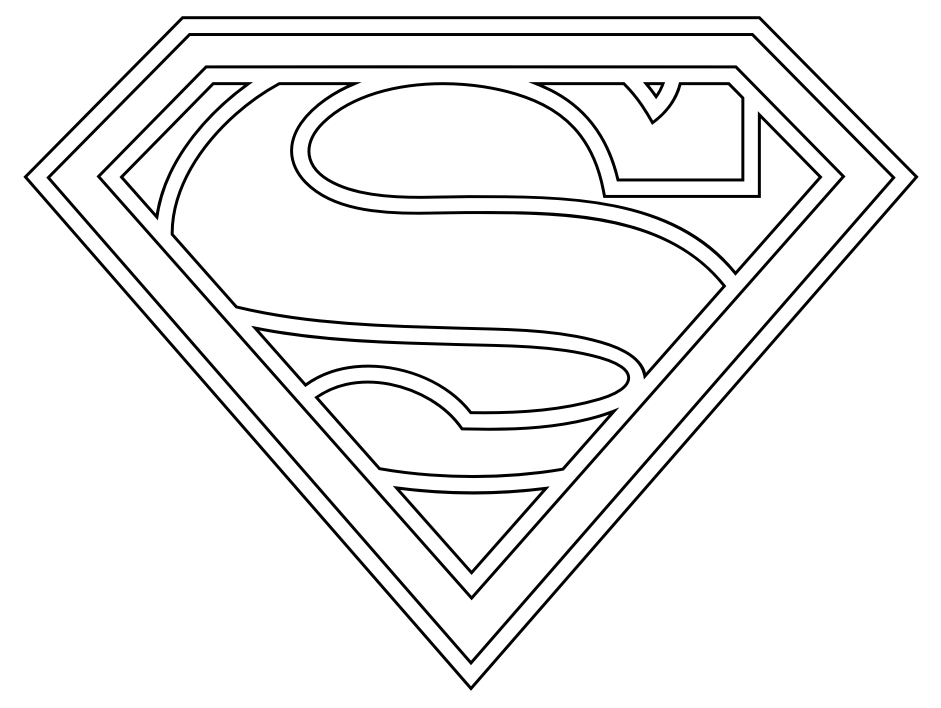 Superman Logo With Different Letters