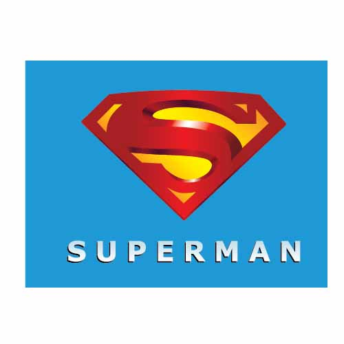 Superman Word Logo