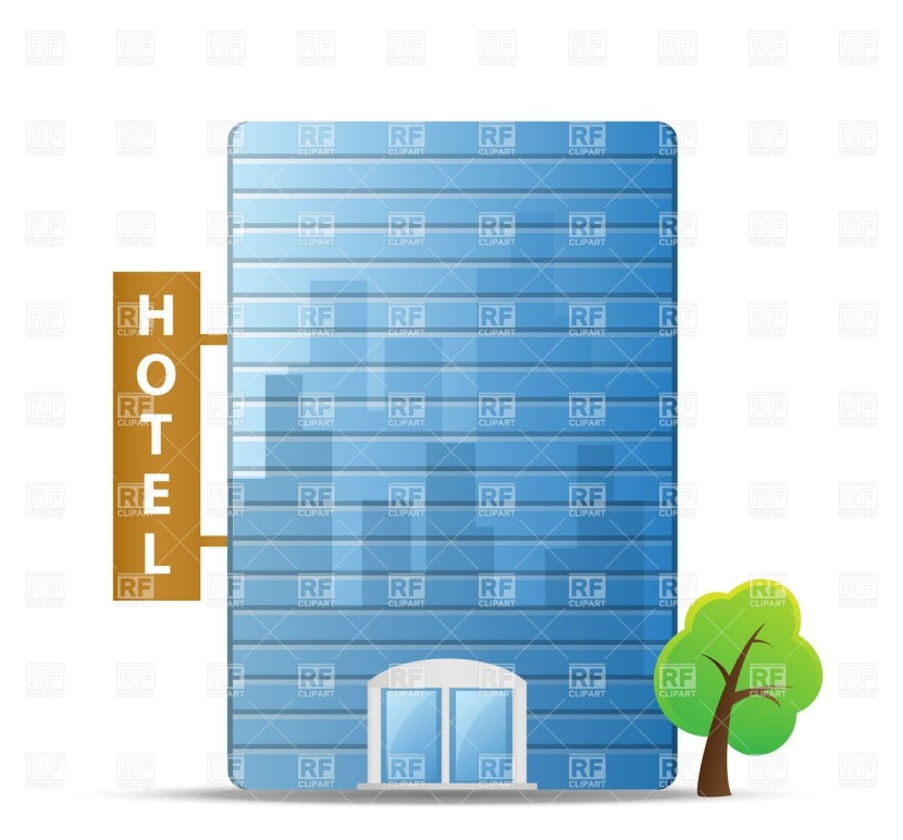 Symbolic Resort Hotel Building Download Royalty Free Vector File Eps Clipart 2ab4acffa3b5d8f Big 5