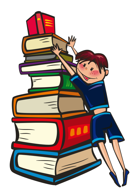 Best Stack Of Books Clipart #13602 - Clipartion.com