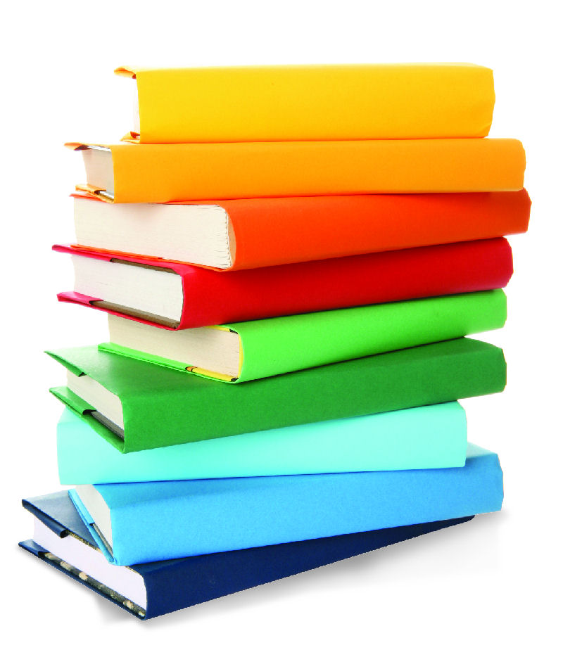 Tall Stack Of Books Clipart Free Clipart Images