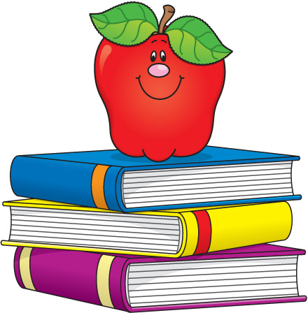 Teacher And School Supplies Clipart