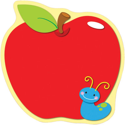 Teacher Apple Clip Art