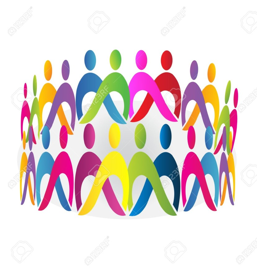 Teamwork Meeting People Design Royalty Free Cliparts Vectors And