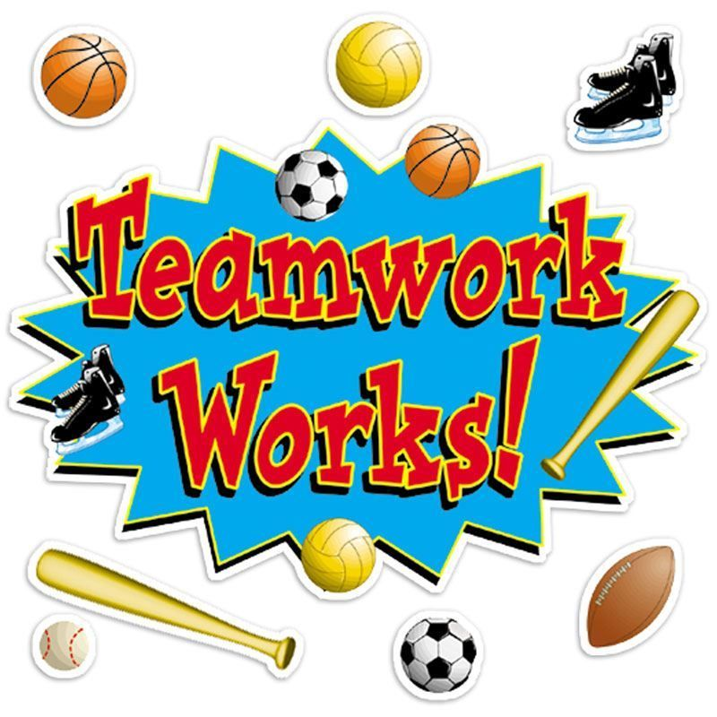 Teamwork Sports Free Clipart Images