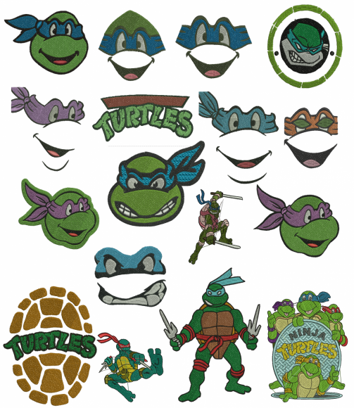 Ninja turtle raphael coloring pages