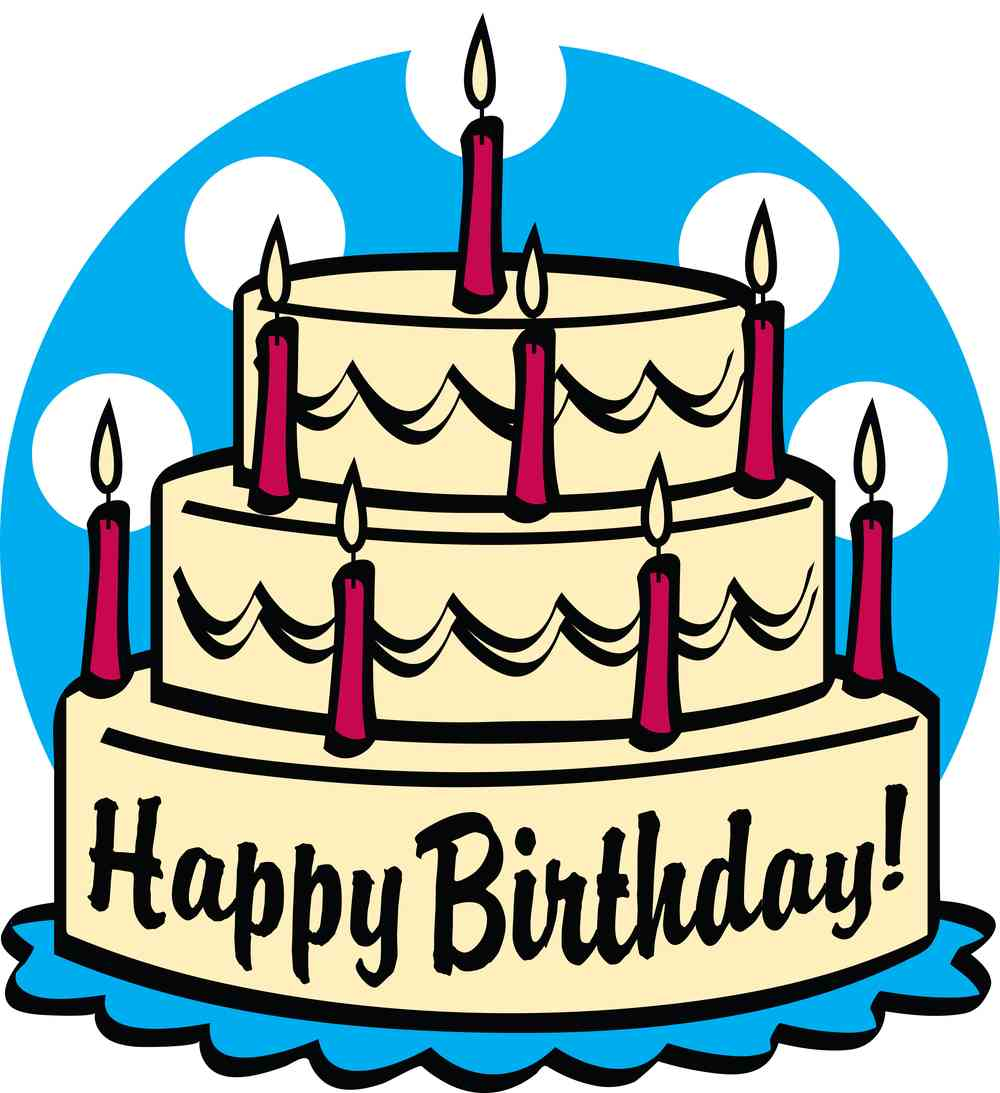 Birthday Cake Clipart 11700