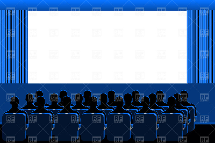 Theater Clip Art Movie Theater Blue Hall Backgrounds Textures
