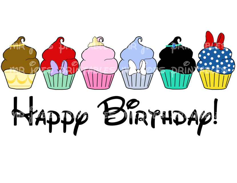 Disney Birthday Clipart Clipartion Com