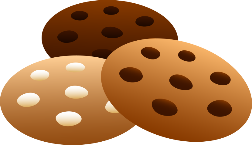 Three Flavors Of Cookies Free Clip Art